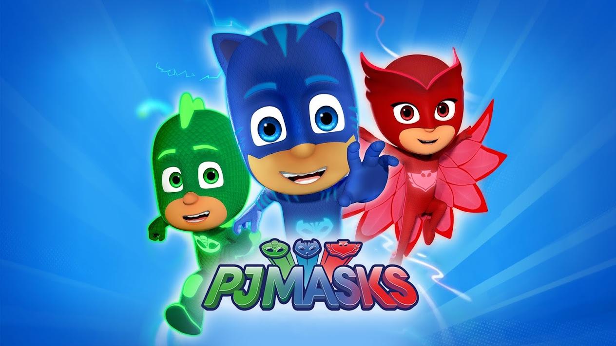 Decoración fiesta pj masks heroes en pijamas online envío