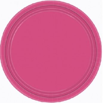 Picture of Platos fucsia grandes (8)