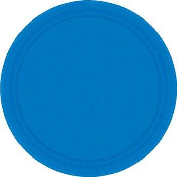 Imagen de Platos azul mar grandes (8)