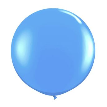 Picture of Globo látex azul claro 90cm
