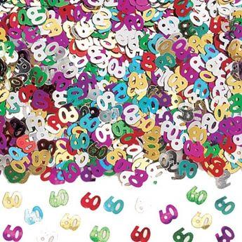 Imagen de Confeti 60 años brillante (14gr)