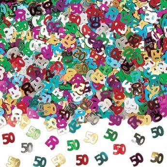 Imagen de Confeti 50 años brillante (14gr)