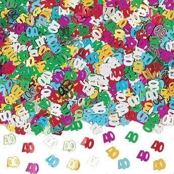 Imagen de Confeti 40 años brillante (14gr)