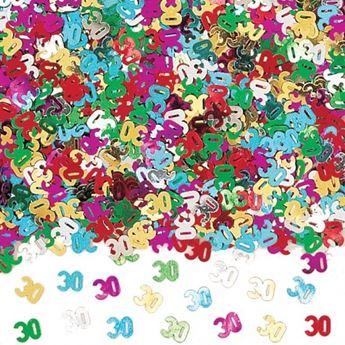 Imagen de Confeti 30 años brillante (14gr)