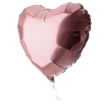 Picture of Globo corazón rosa