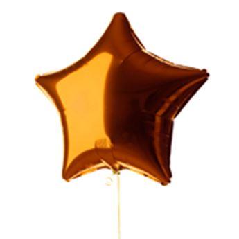 Imagen de Globo estrella naranja