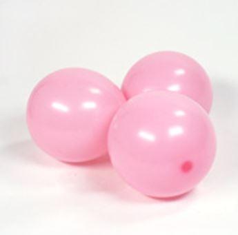 Imagen de Globos rosa pastel pequeños (100)