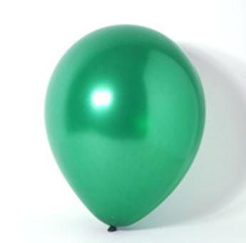 Imagen de Globos verde selva perlados pequeños (100)