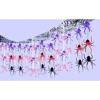 Imagens de Decorado techo arañas