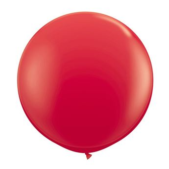 Picture of Globo látex rojo 90cm