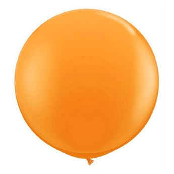 Picture of Globo látex naranja 90cm