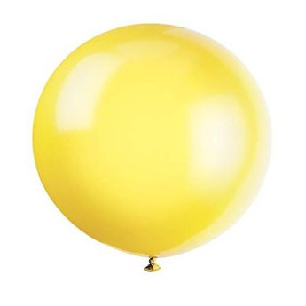 Picture of Globo látex amarillo 90cm