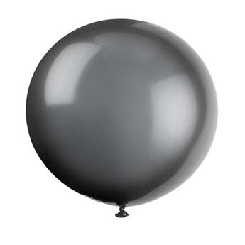 Picture of Globo látex negro 90cm