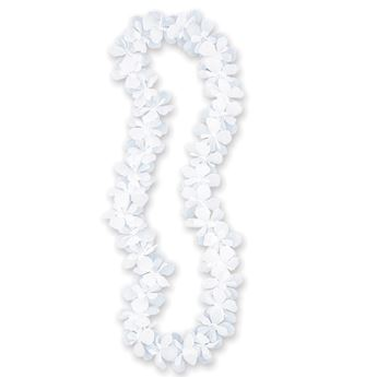 Imagen de Lei flores blanco