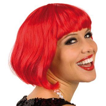 Imagen de Peluca corta roja cabaret