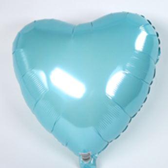 Imagen de Globo corazón azul claro