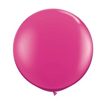 Picture of Globo látex fucsia 90cm