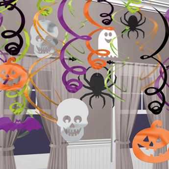 Imagen de Decorados espirales Halloween infantil (30)