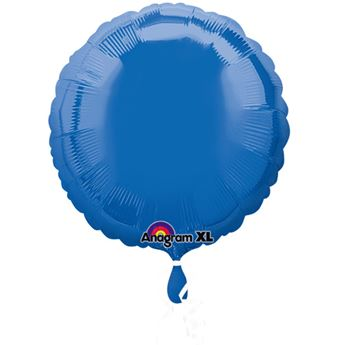 Imagen de Globo círculo azul añil