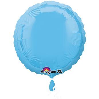 Imagen de Globo círculo azul celeste