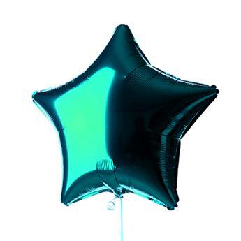 Imagen de Globo estrella verde azulado