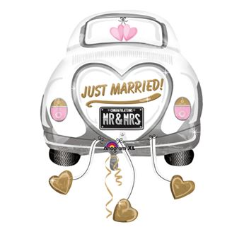 Picture of Globo coche Just Married