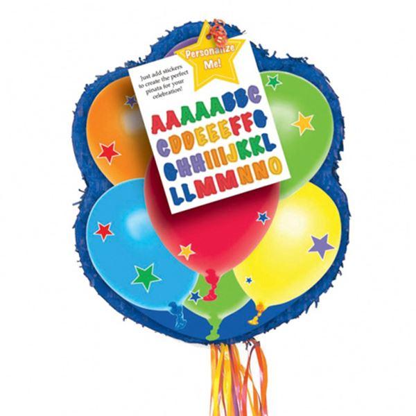 Imagen de Piñata globos personalizable