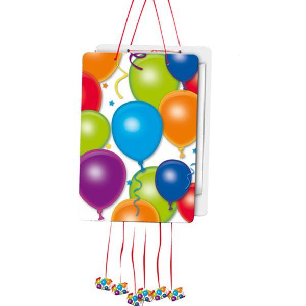 Imagen de Piñata globos plana