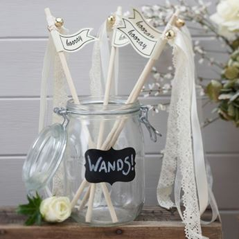 Imagen de Varitas boda cintas (10)