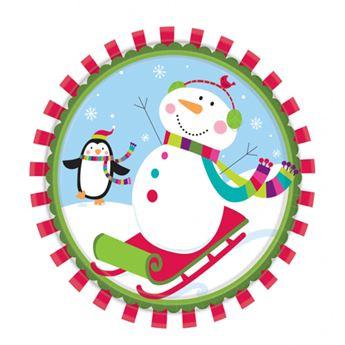 Imagen de Platos navidad feliz (8)