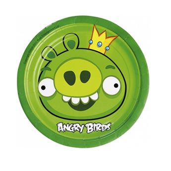 Imagen de Platos Angry Birds pequeños (8)