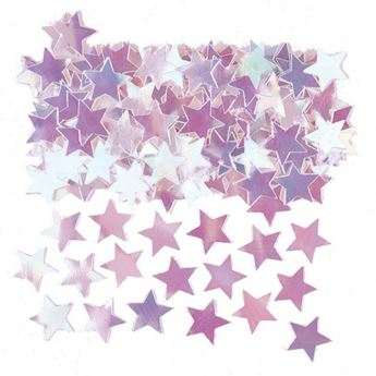 Imagen de Confeti estrellas iridiscentes (14gr)