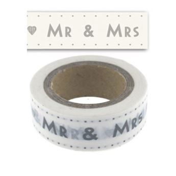 Imagens de Washi Tape Mr and Mrs