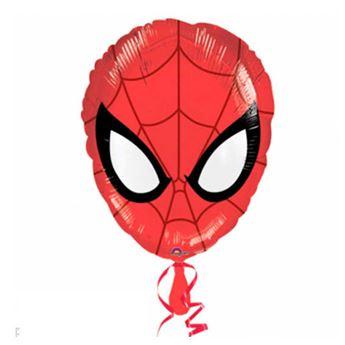Imagen de Globo Spiderman rostro palito