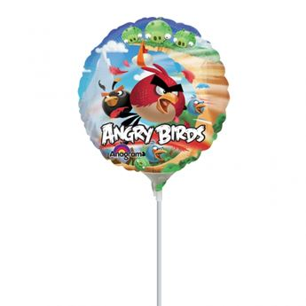 Picture of Globo Angry Birds palito