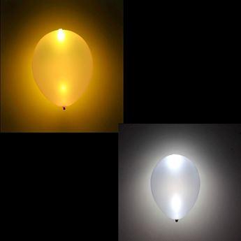 Imagen de Globos oro y plata con luz (5)