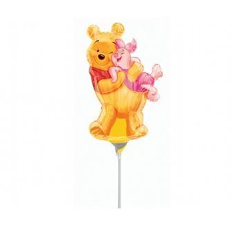 Imagen de Globo Winnie Pooh abrazo palito