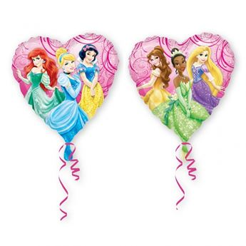 Picture of Globo corazón Princesas Disney