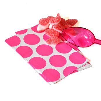 Imagen de Bolsas candy bar fucsia papel (10)