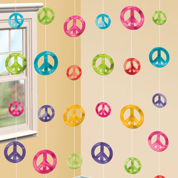 Tiras hippie 6 fiestafacil tienda online de art culos - Fiestas hippies decoracion ...