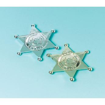 Imagen de Estrellas plata vaquero sheriff (12)