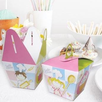 Imagen de Cajitas cupcakes Pequeños Cocineros (6)
