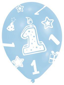 Imagens de Globos 1 cumpleaños azul (6)