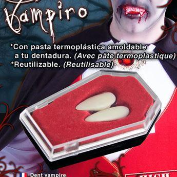 Imagen de Dientes colmillos vampiro grandes