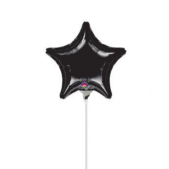Picture of Globo estrella negra mini