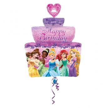 Picture of Globo tarta Princesas Disney