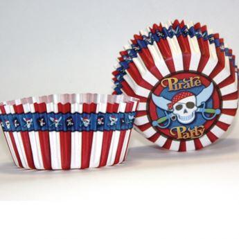 Imagen de Cápsulas cupcake piratas (50)