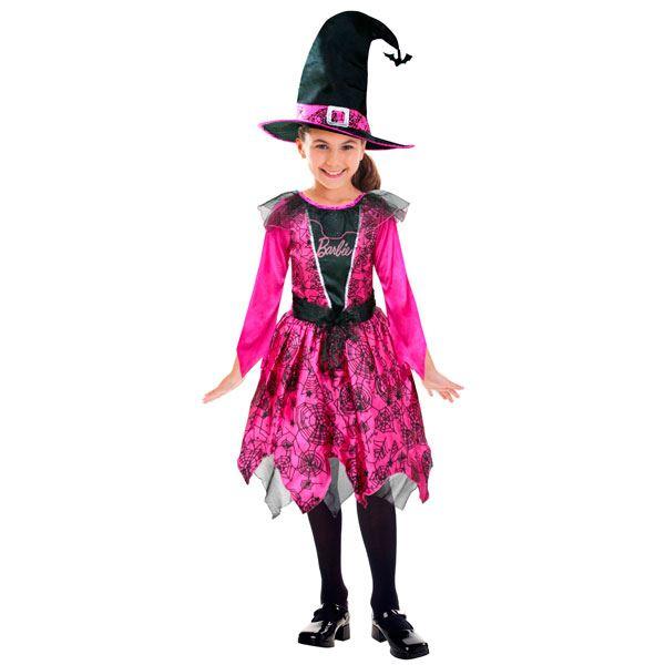 imagen de disfraz barbie bruja aos