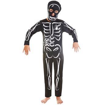 Imagens de Disfraz esqueleto de 3 a 5 años
