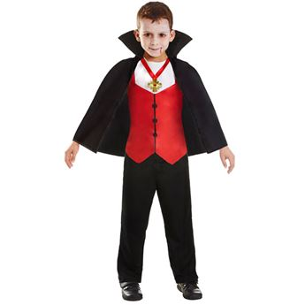 Imagen de Disfraz Drácula infantil hasta 8 años